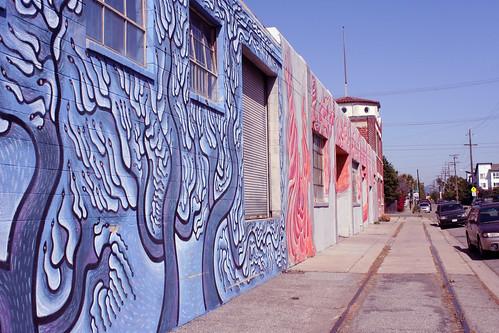 building in West Oakland
