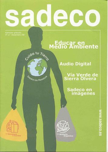 Portada Revista Sadeco.