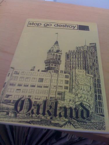 stop go destroy # 3 - oakland