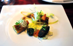 8th Course: a savory expression of 'ORION' FENNEL