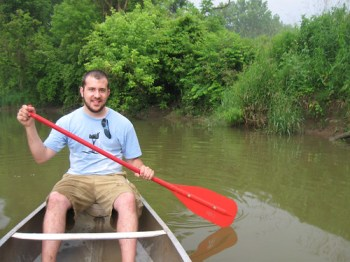 Canoeing on the Huron River