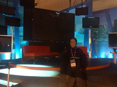 """in front of 150"""" panasonic tv by LJRich"""
