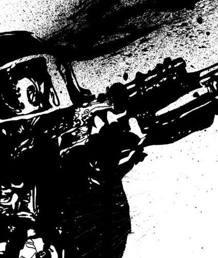 battles-page-22-ink-on-paper-splatter-detail