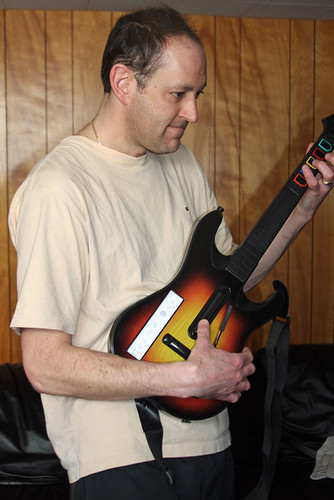 Mike Rockin Out