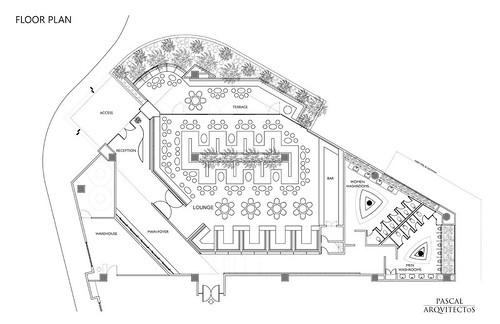 25 Nisha Bar Design - Floor Plan