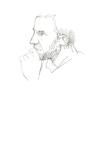 sketching alan
