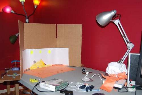 a photo of our home animation studio