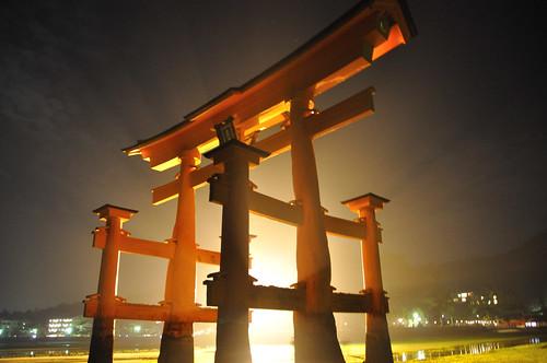 Miyajima Island torii