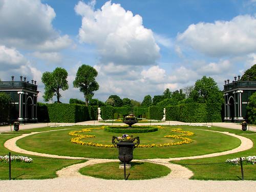 Garden of Schonbrunn Palace by you.