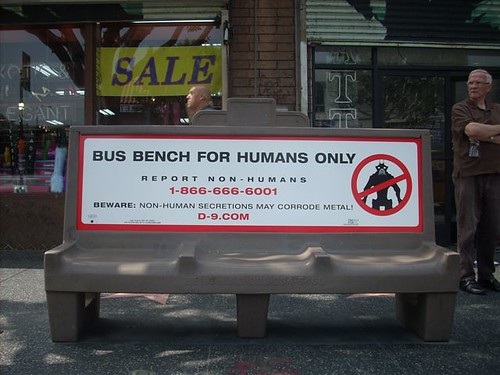 District 9 Bus Bench MNU Sign Teaser