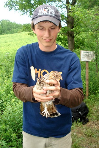 Kyle and Ruffed Grouse