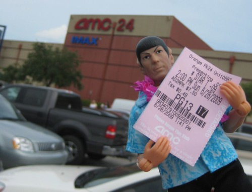 Spock at movie