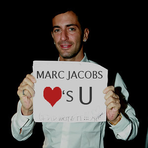 Marc Jacobs love you
