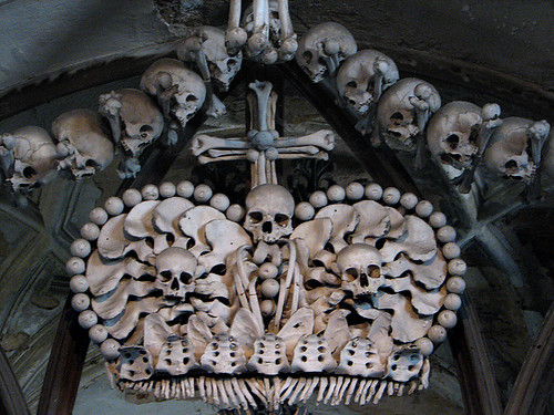 Kostnice Ossuary by you.