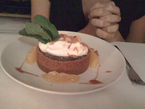orange-chocolate tart from erbaluce