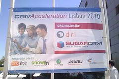 At the SugarCRM event
