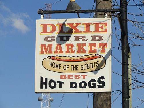 Dixie Curb Market Hot Dogs, Dothan AL