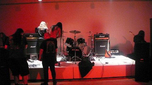 Still life with black metallers