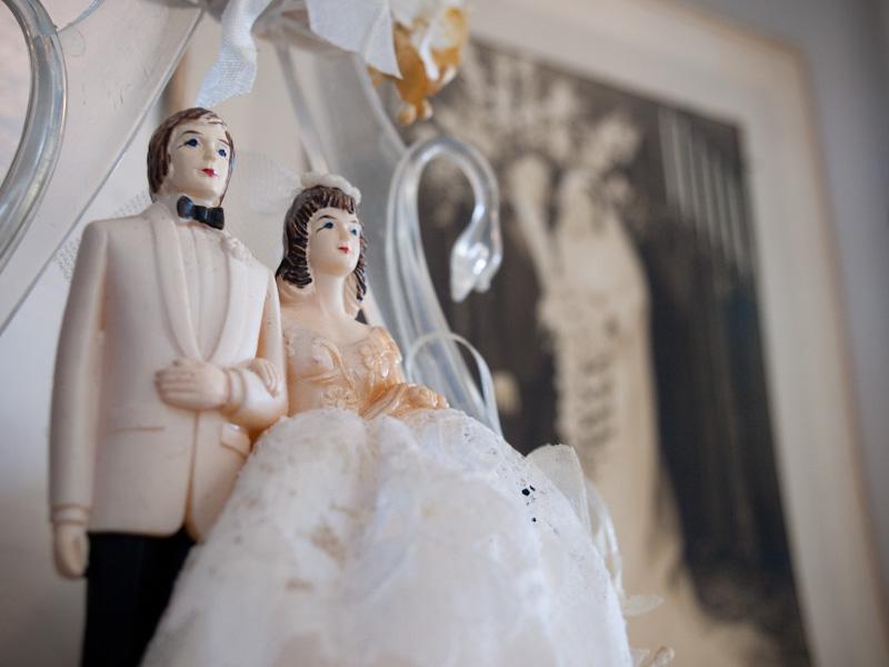 Fifties Bride & Groom