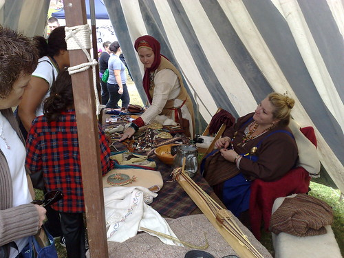 Spinning, weaving, sewing