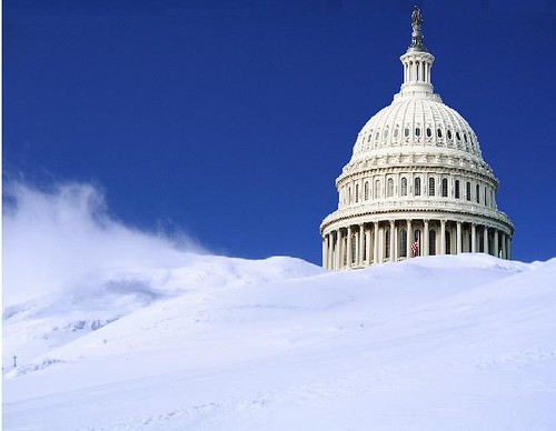 Snow in DC; Global Warming Deniers Rejoice