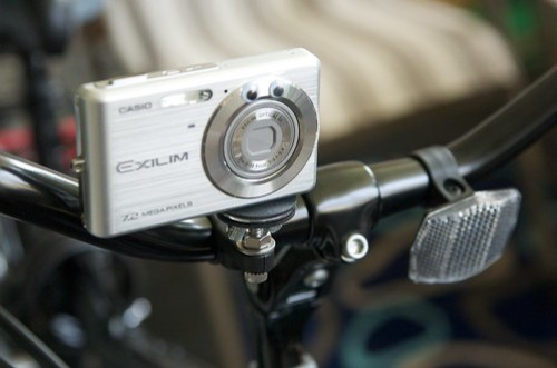 Camera Mount on the Bike (front)