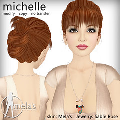 hair michelle ad