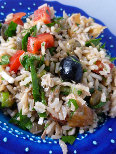Brown Rice and Smoked Mackerel Salad by you.