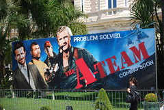 The A-Team Poster - Cannes Film Festival 2010