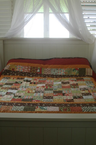 The quilt - nearly finished
