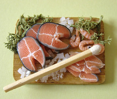 Miniature Salmon Prep Board
