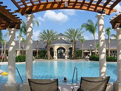 Pool and Spa at Rental Condo Complex