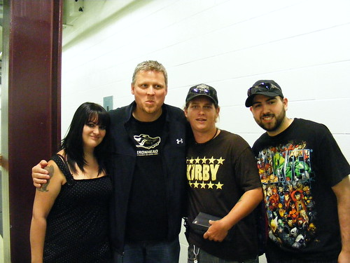 We also met Dean Blundell! Sa-weeeet!
