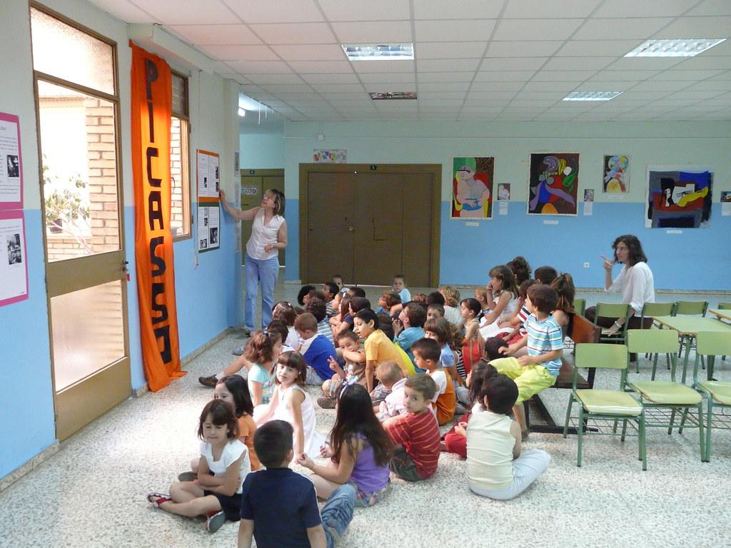 INFANTIL DE 5 AÑOS VISITA LA EXPOSICIÓN