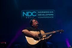 Carl Franklin playing at NDC