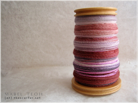 Cassis Swirls in Superwash Merino