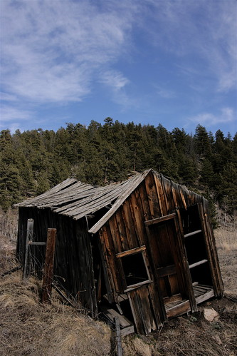 An abandoned shack in Colorado