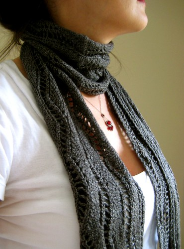 A pick-me-up by Twisted Knitter.