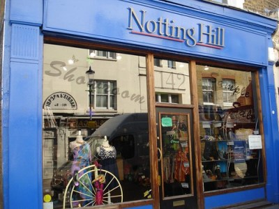 luoghi del film Notting Hill