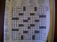 First Crossword Puzzle DSCN2477