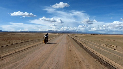 The road to Uyuni