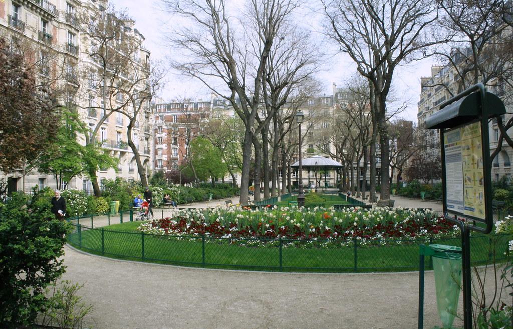 le square Clignancourt