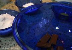 141. Suflê de chocolate amargo