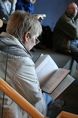 reading along, MDM 2009