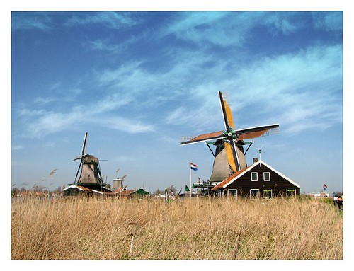 Windmills of Zaanse Schans by you.