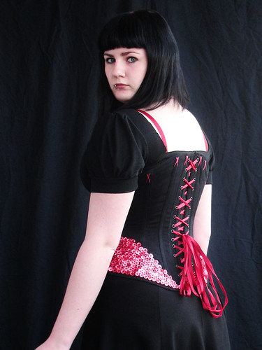 button corset 2 - side back