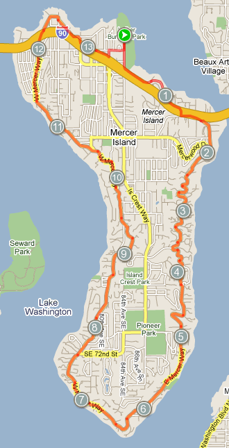 Mercer Island Bike Ride