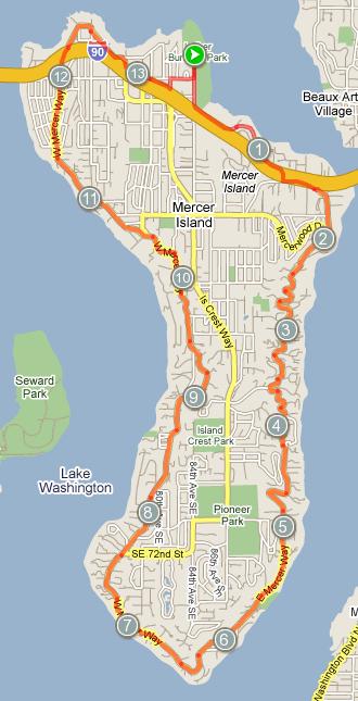 Mercer Island Bike Ride