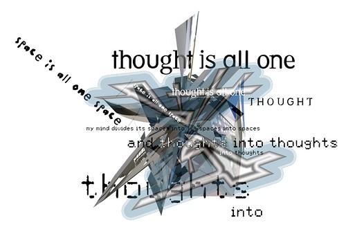 Thought into space
