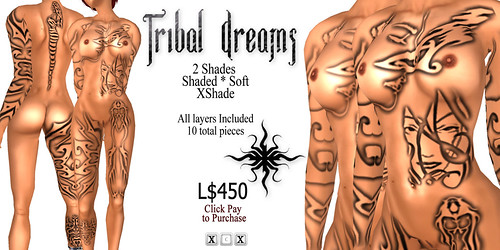 [HUZ]-Tribal Dreams-2X Shade Advert